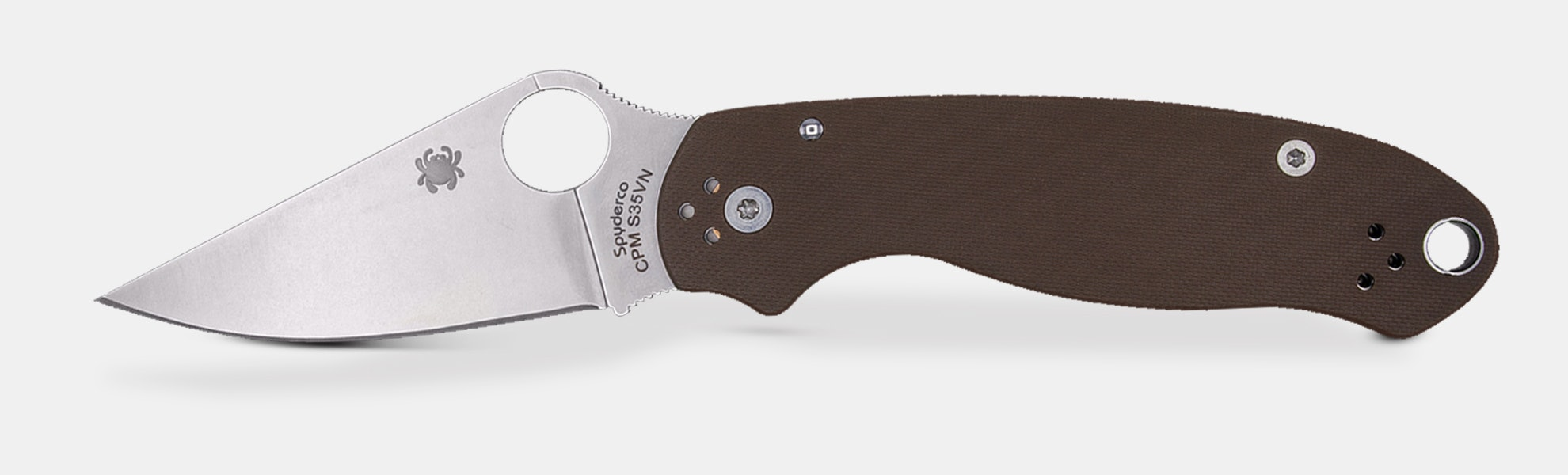 Spyderco Para 3 Limited-Edition S35VN Earth Brown