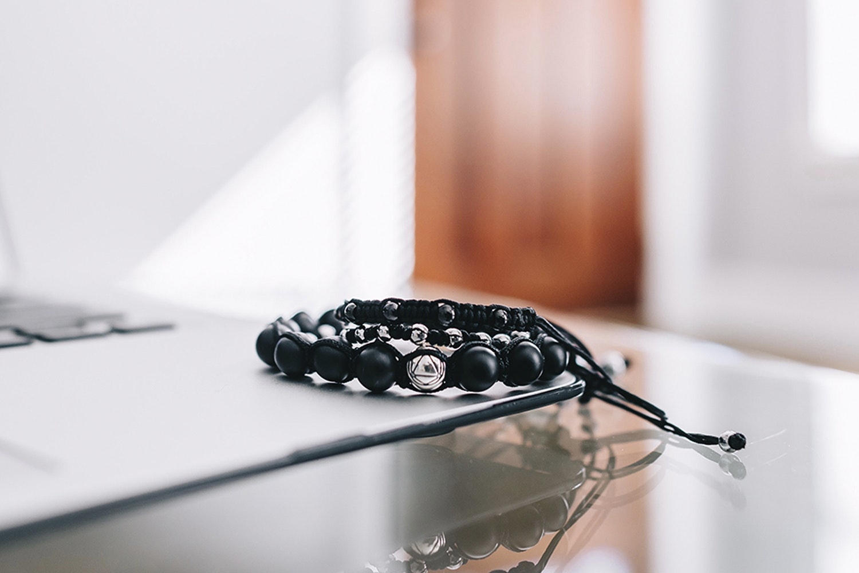 Executive Society Beaded & Steel Bracelets