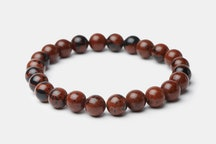 Brown Black Maroon Mahogany Stone