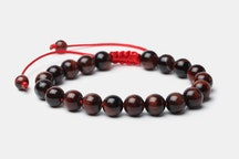 Red Tigers Eye with Red Cord