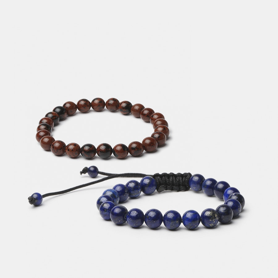 Executive Society Semiprecious Bracelets (2-Pack)
