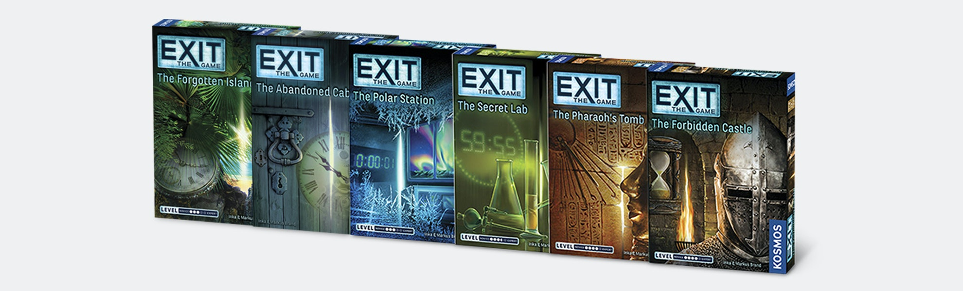 Exit: The Game Bundle Mix 'n' Match (6-Pack)