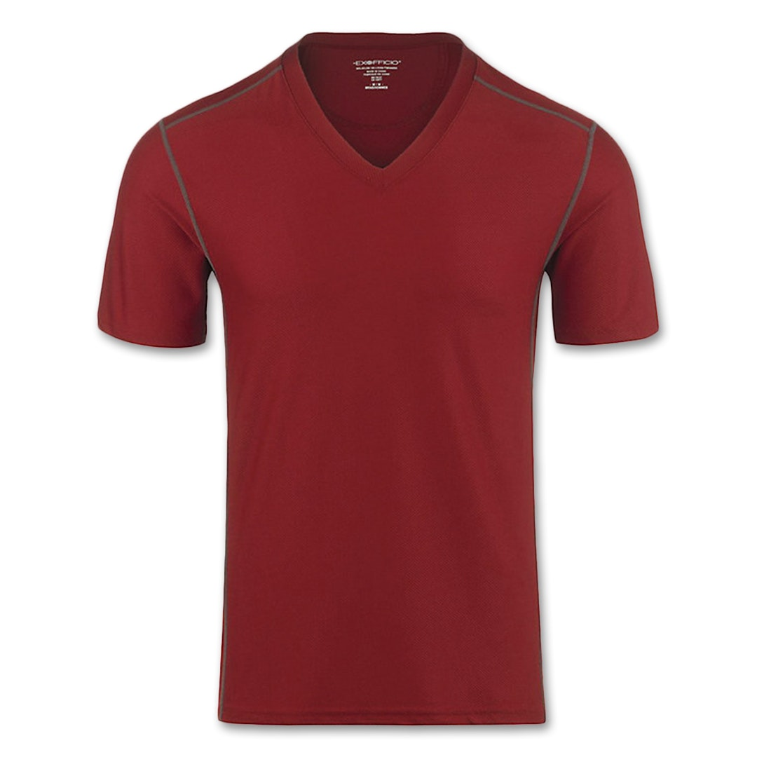 ExOfficio Give-N-Go Men's Sport Mesh V-Neck Shirt