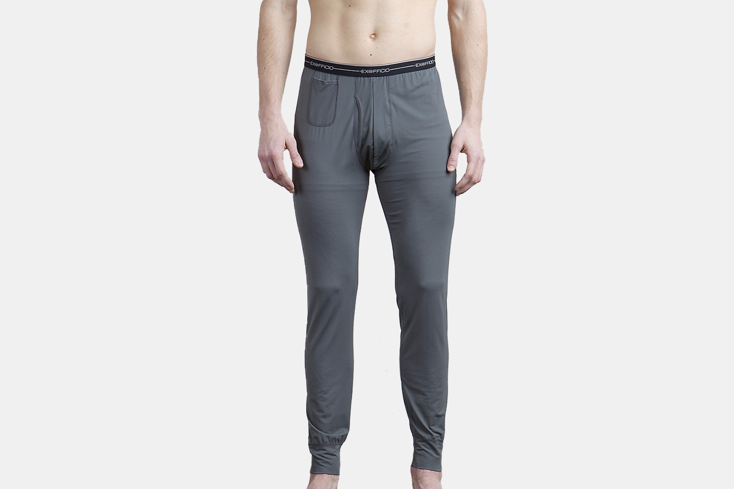 Men's bottoms – dark pebble