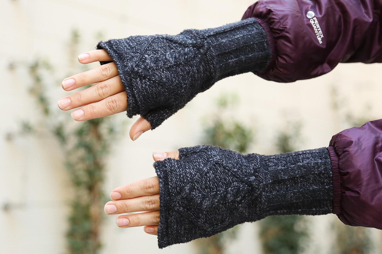 ExOfficio Lorelei Fingerless Mittens