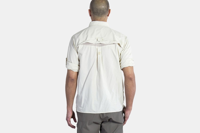 ExOfficio Men's Air Strip Long-Sleeve Shirt