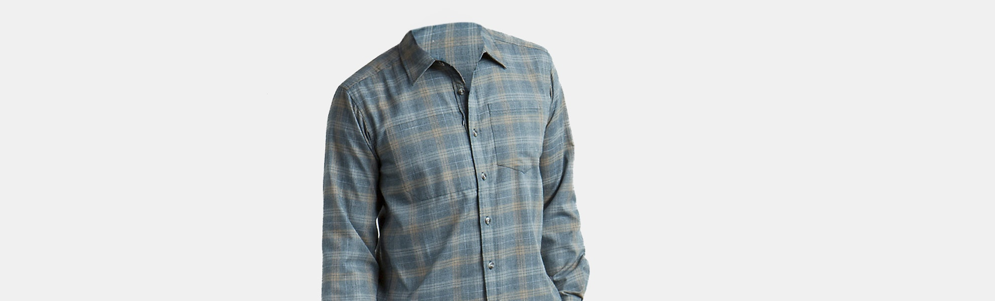 ExOfficio Men's Okanagan Long-Sleeve Flannel Shirt
