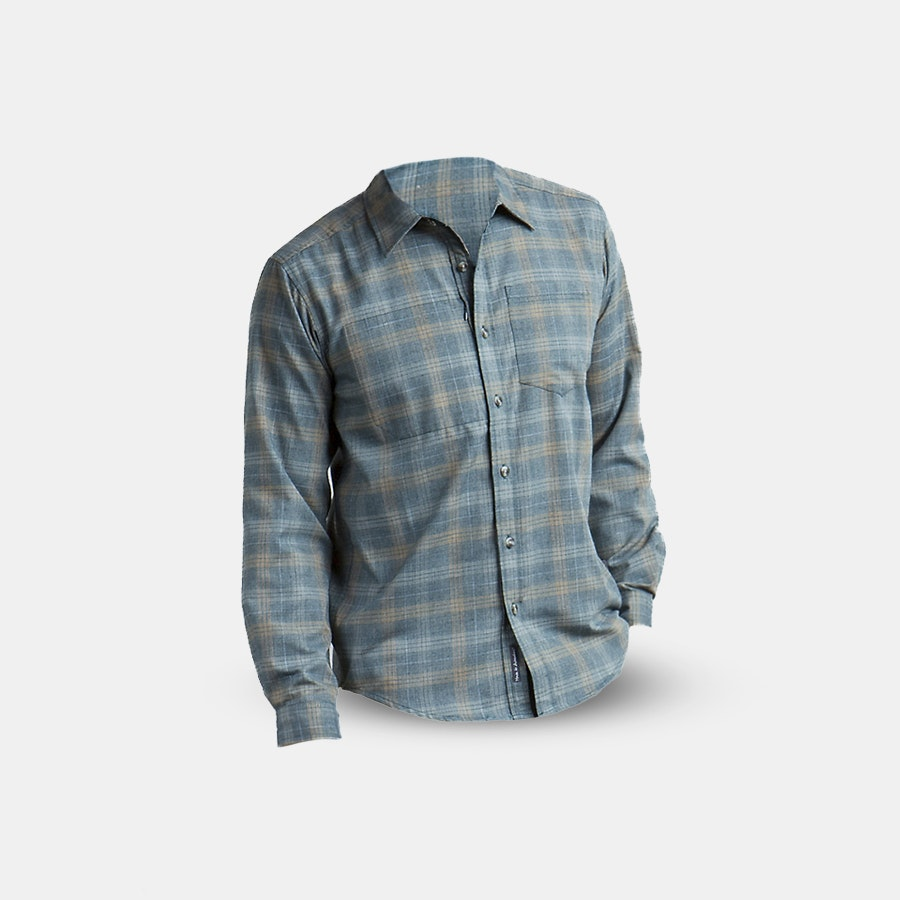 ExOfficio Men's Okanagan Long-Sleeve Flannel Shirt