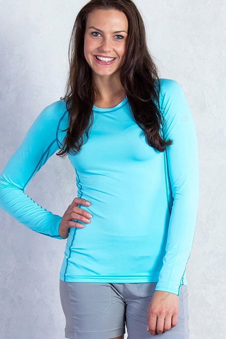 Womens Long Sleeve, Azul