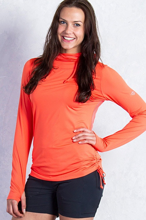 Womens Ultimate Hoody, Hot Coral