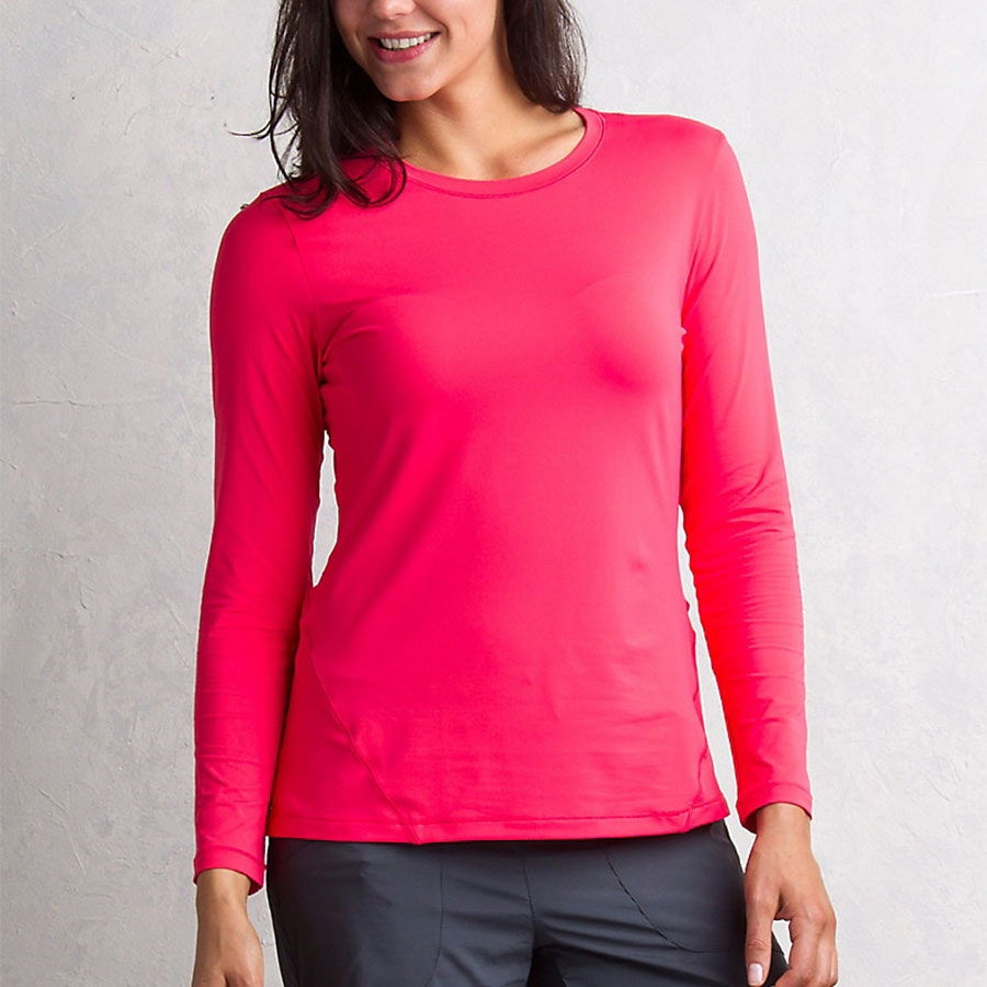 Women's Long Sleeve, Teaberry