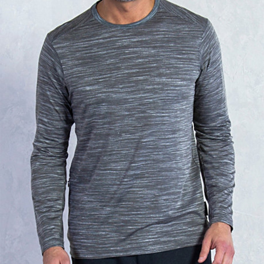 Mens Termo Crew, Slate Heather