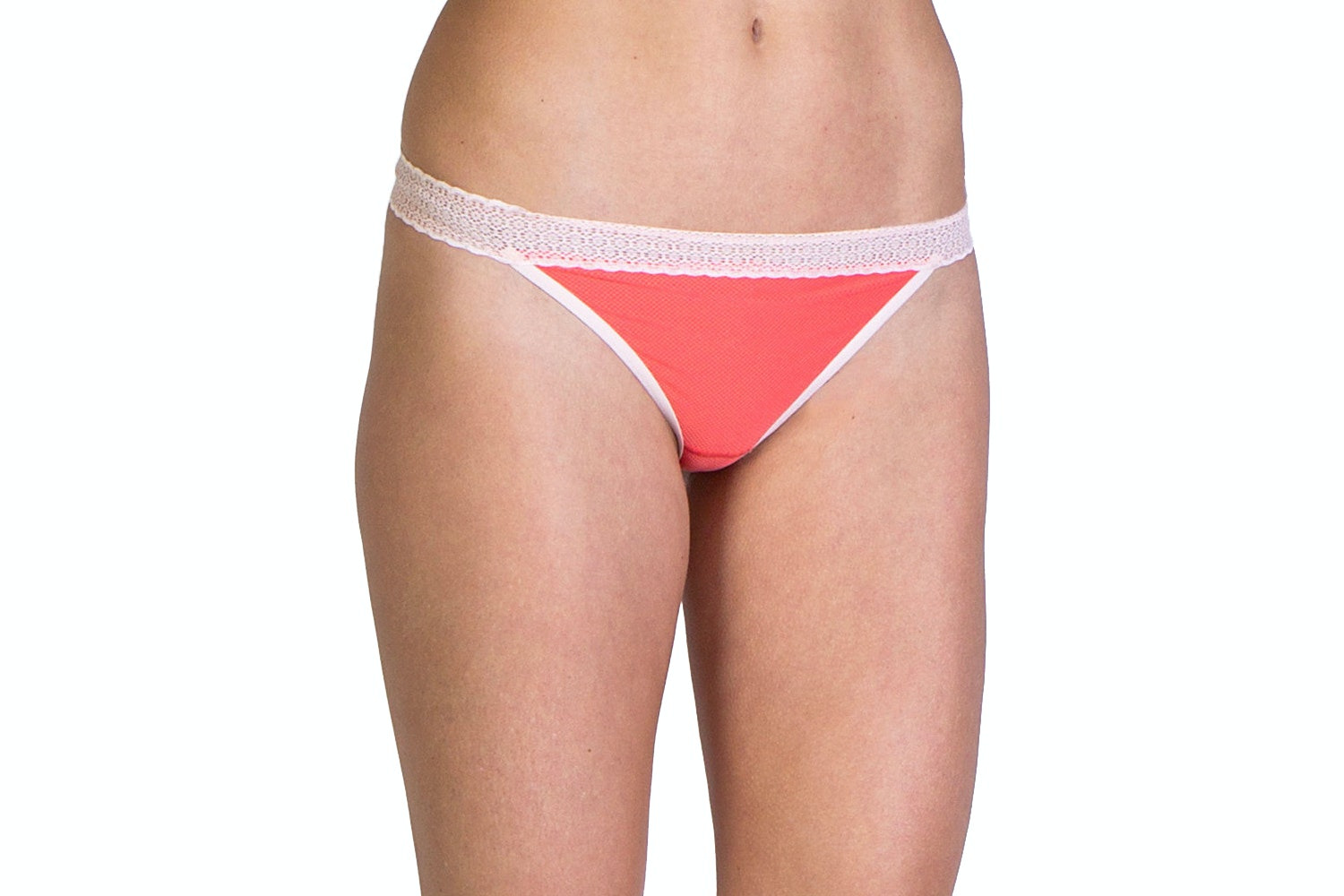 Lacy Thong, Hot Coral