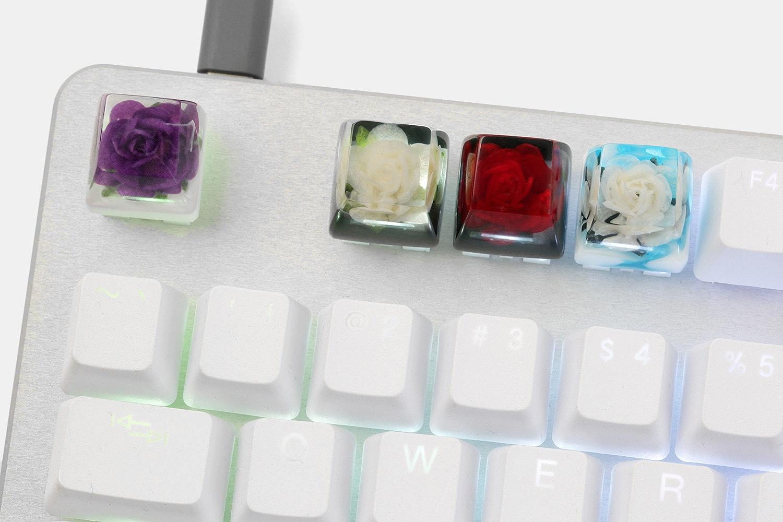 The Eye Key Rose Artisan Keycap