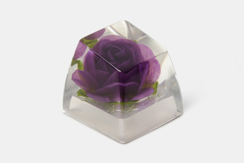 SA Purple Rose - Crystals