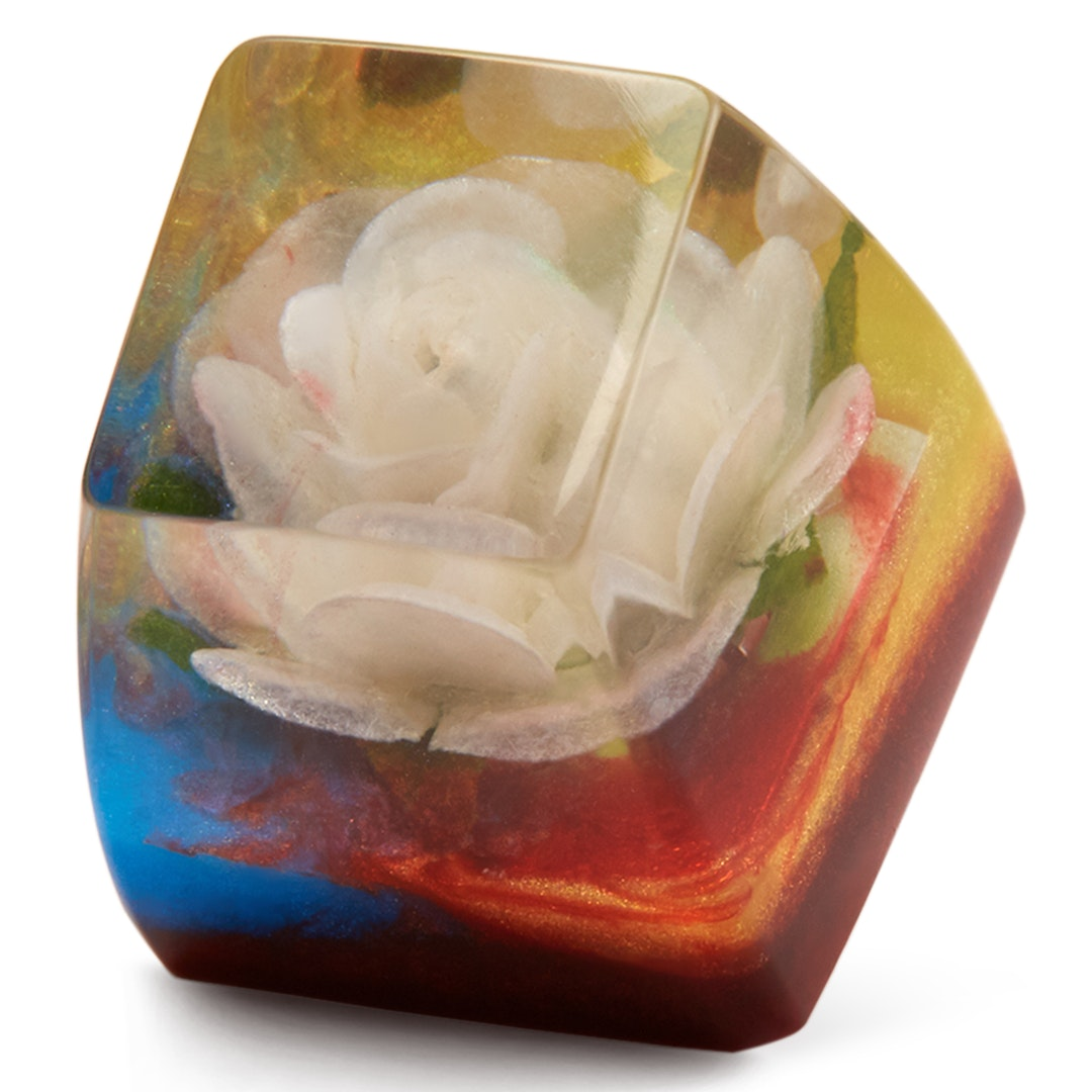 The Eye Key Rose Artisan Keycap