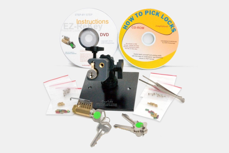 EZ Rekey Skill Builder Lockpicking Practice Kit