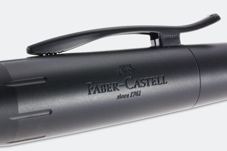 Faber-Castell E-Motion Pure Black Bundle