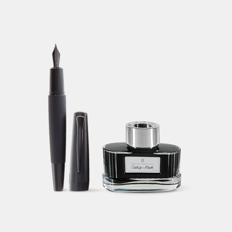 Faber-Castell E-Motion Pure Black Bundle
