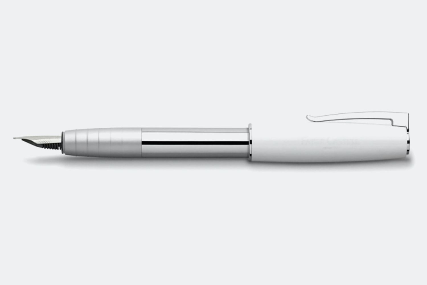 Piano Fountain Pen – White