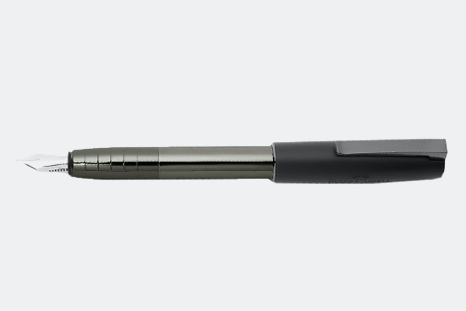Metallic Fountain Pen – Gunmetal Shiny (+ $6)