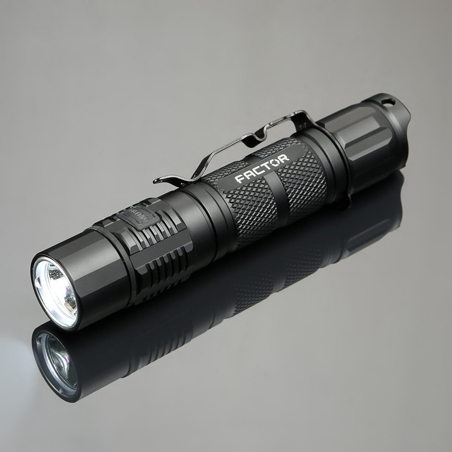 Factor Equipment Cossatot 1000 & 1000XL Flashlights