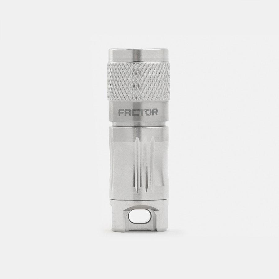 Factor Equipment Ghost 130 Keychain Flashlight