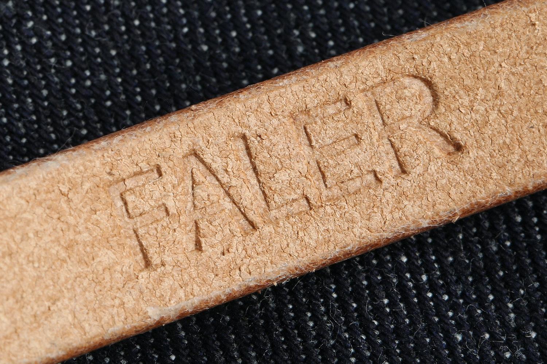Faler Brand Leather Bracelet