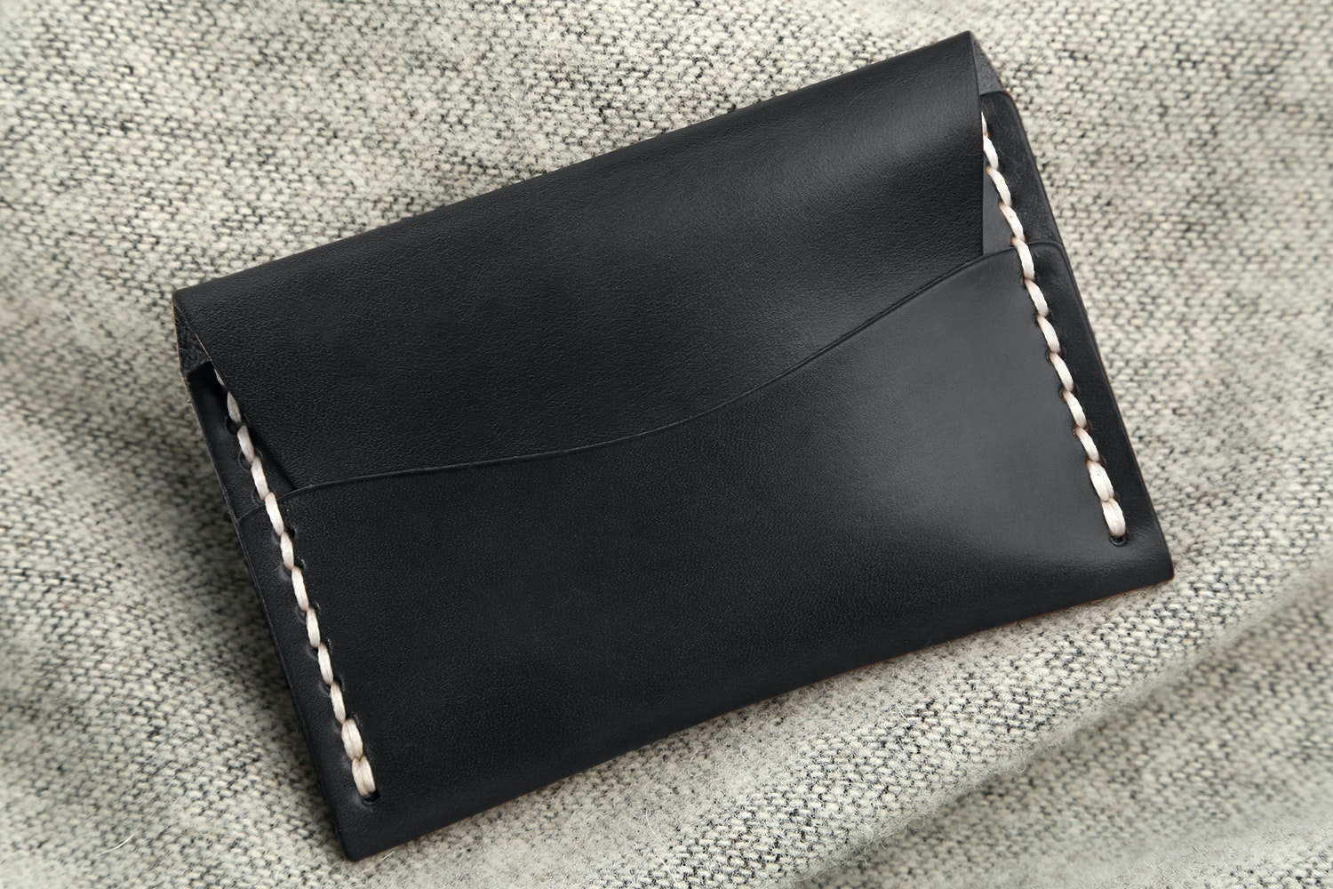 Black Horween Latigo  (from Horween Leather Company)