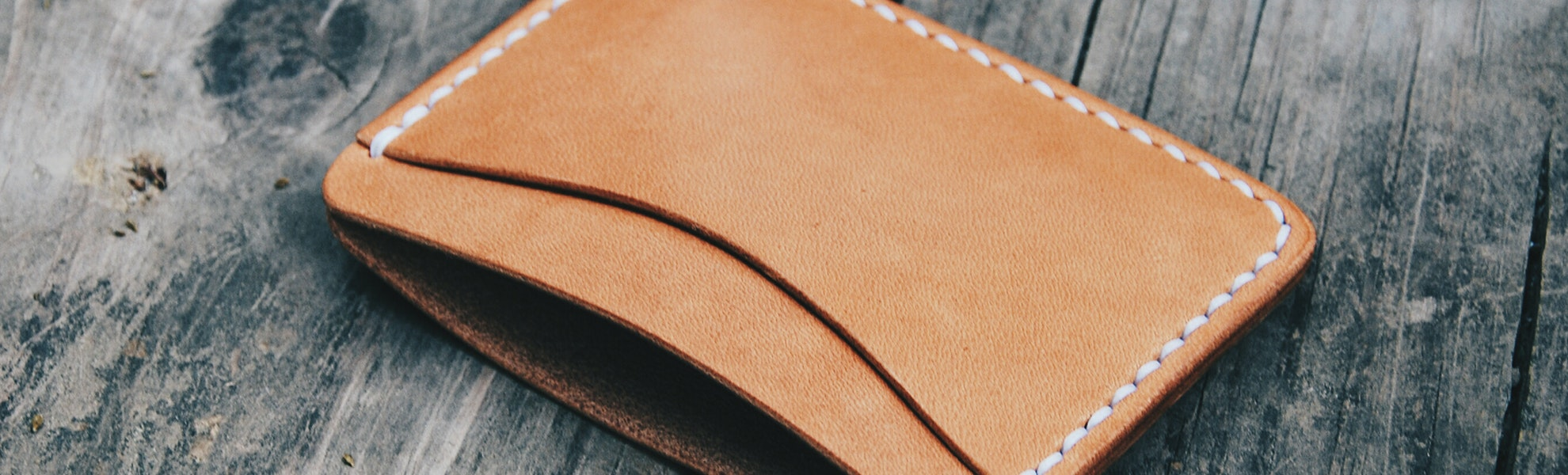 Faler Brand Minimalist Horween Wallet