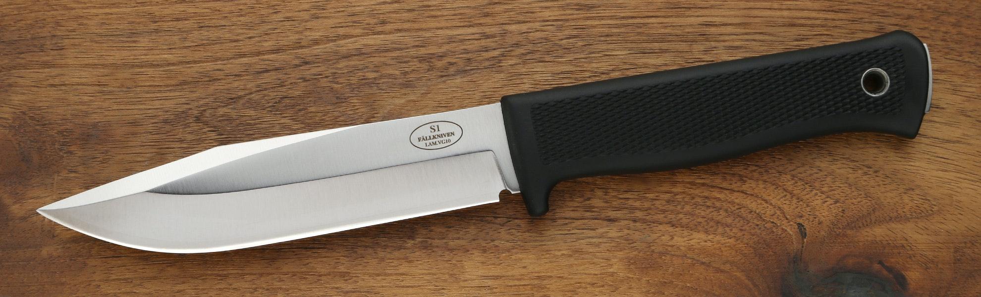 Fallkniven S1 Forest Knife w/Zytel Sheath