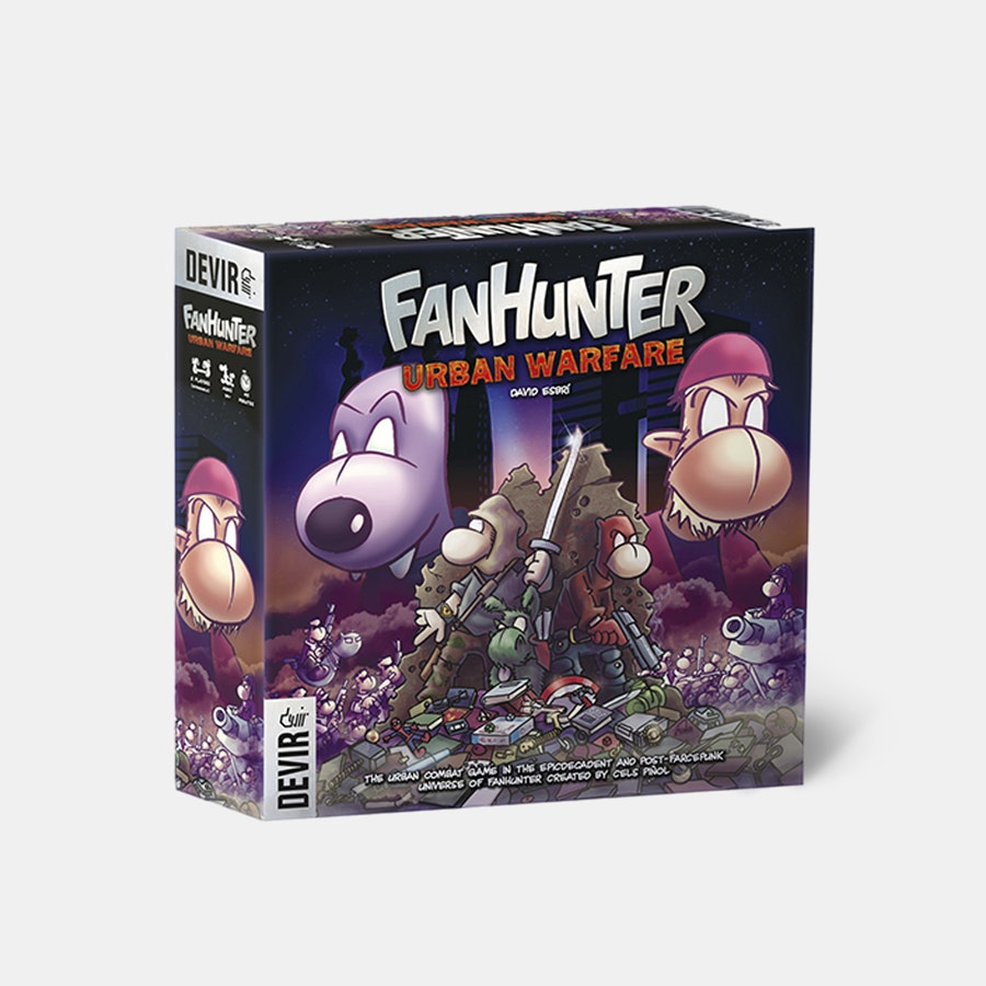 Fanhunter: Urban Warfare Board Game