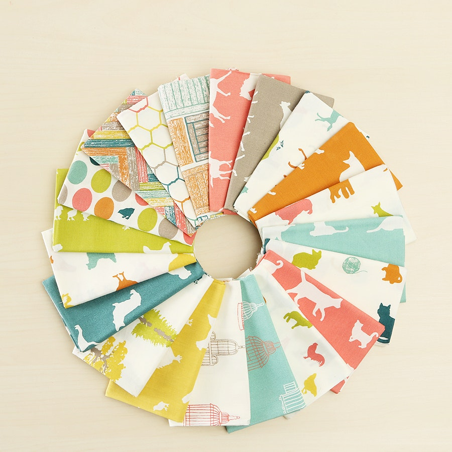 Farm Fresh Fat Quarter Bundle by Birch
