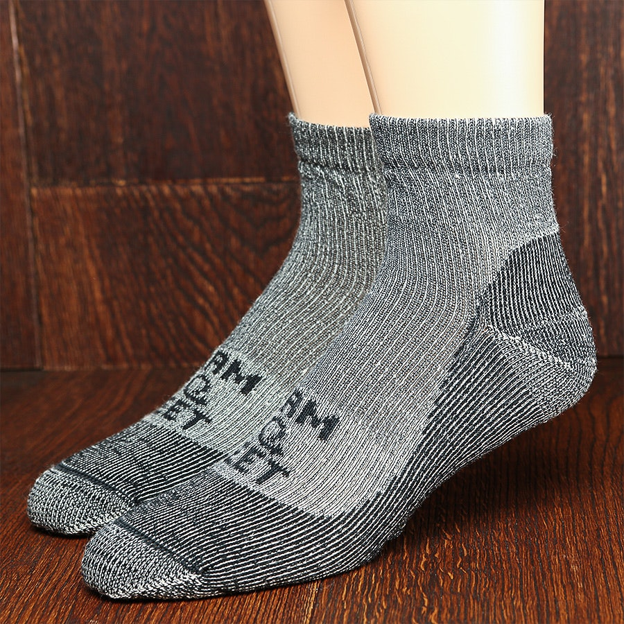 Farm to Feet Boulder 1/4 Crew Socks (3-Pack)