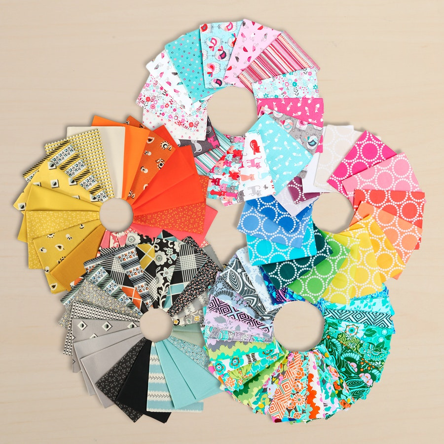 Fat Quarter Bundles Free For All