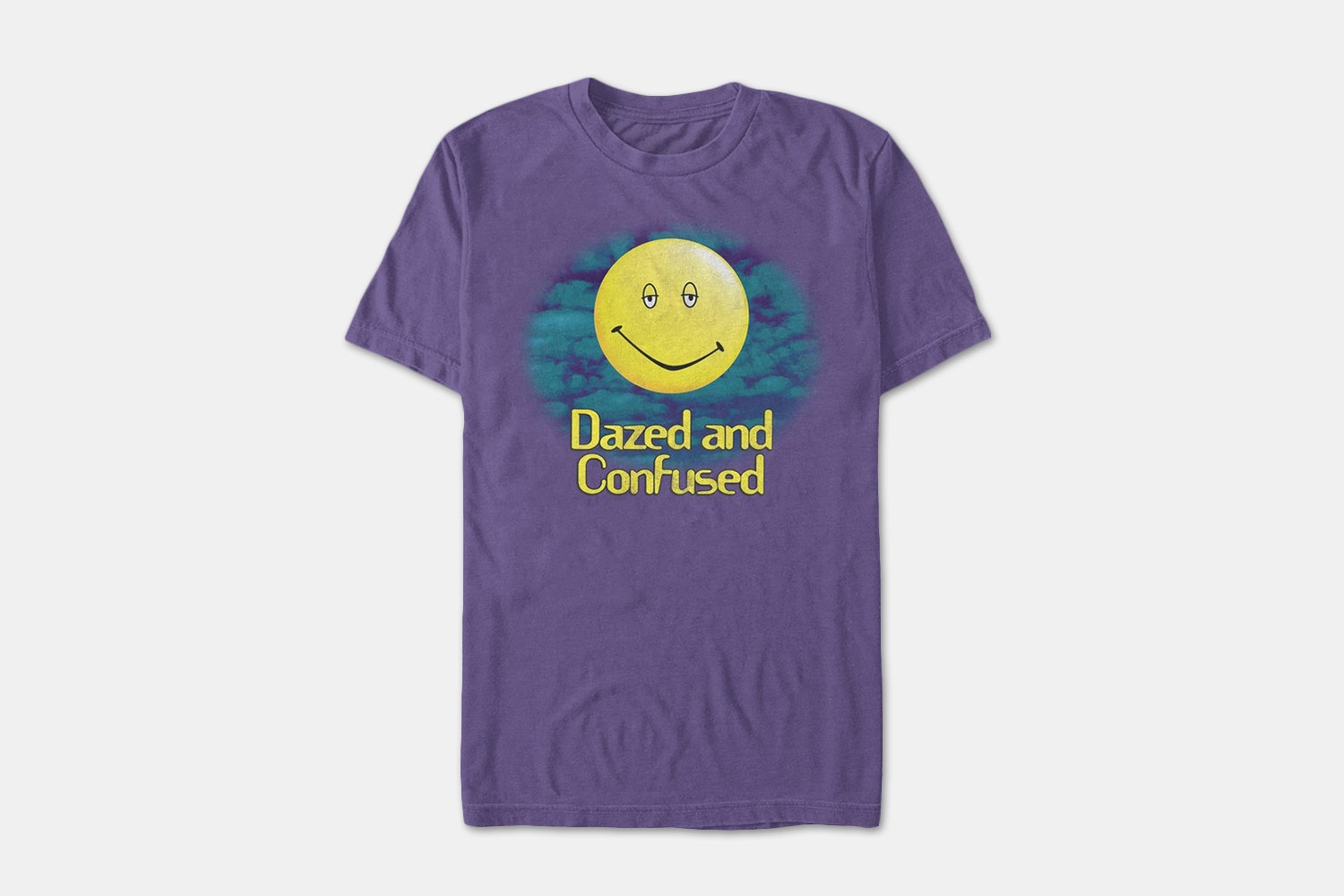 Dazed Confused Smiley - Purple