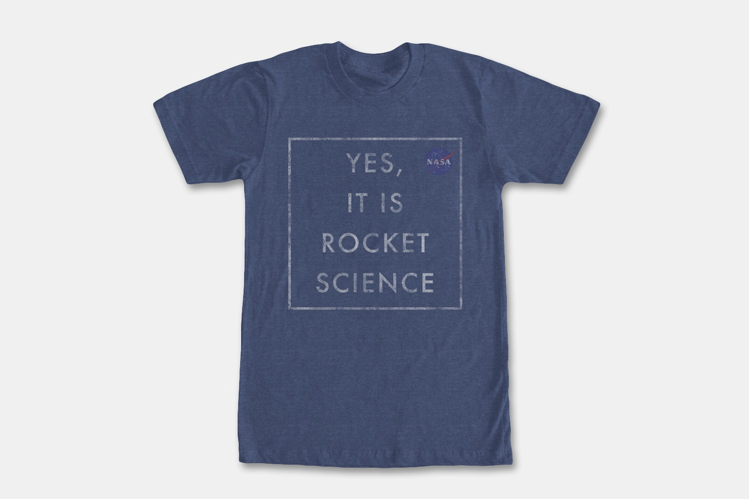 Yes, Rocket Science - Navy Heather