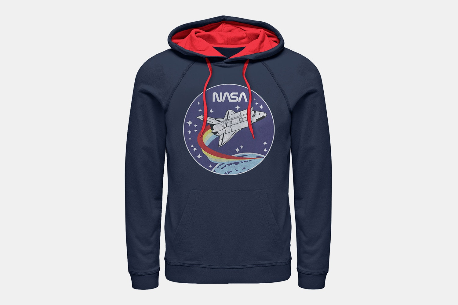 Nasa Patch - Contrast Hoodie (+ $5)