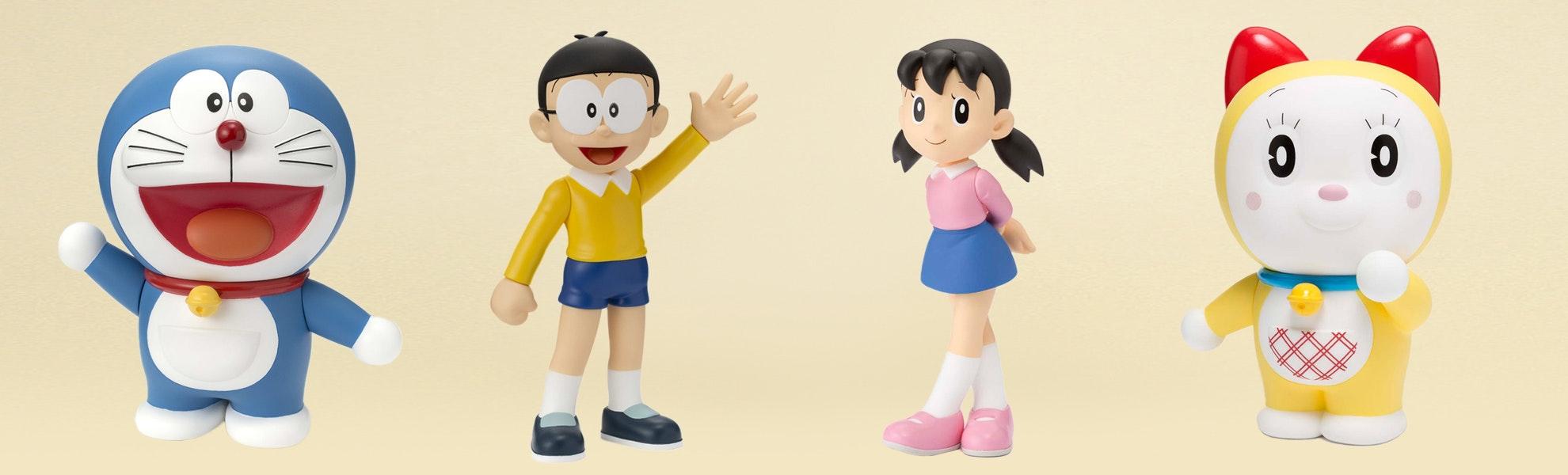 Figuarts ZERO: Doraemon and Friends (2-Pack)