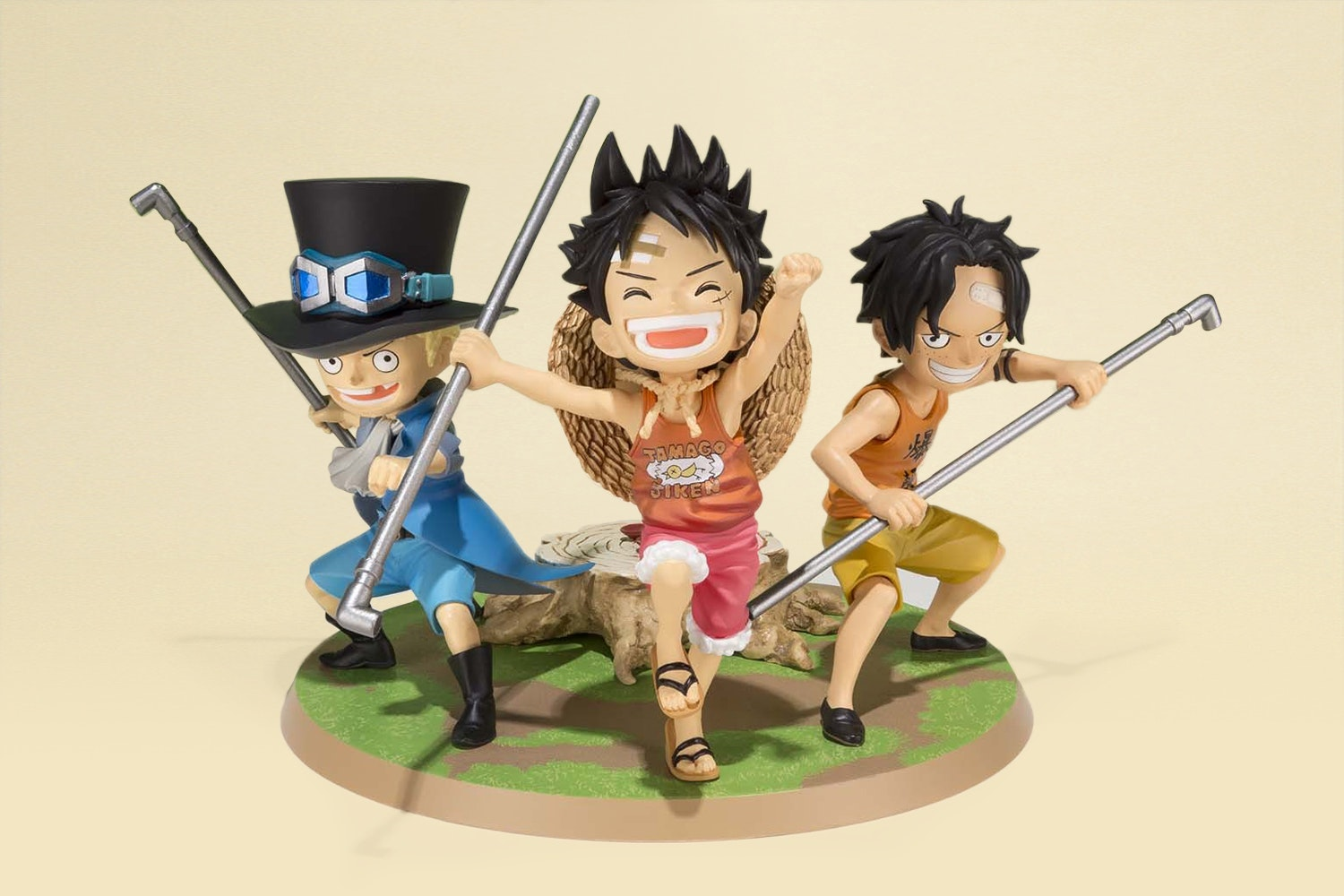Luffy and Ace and Zero (+ $20)