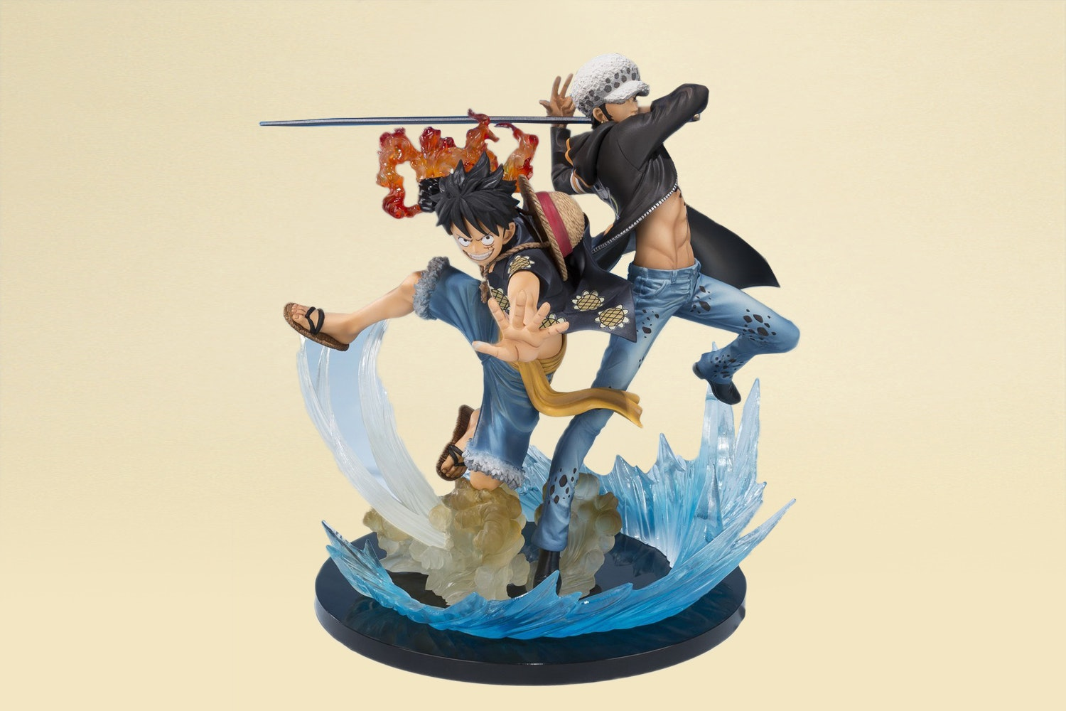 Monkey D. Luffy and Trafalgar Law (+ $30)