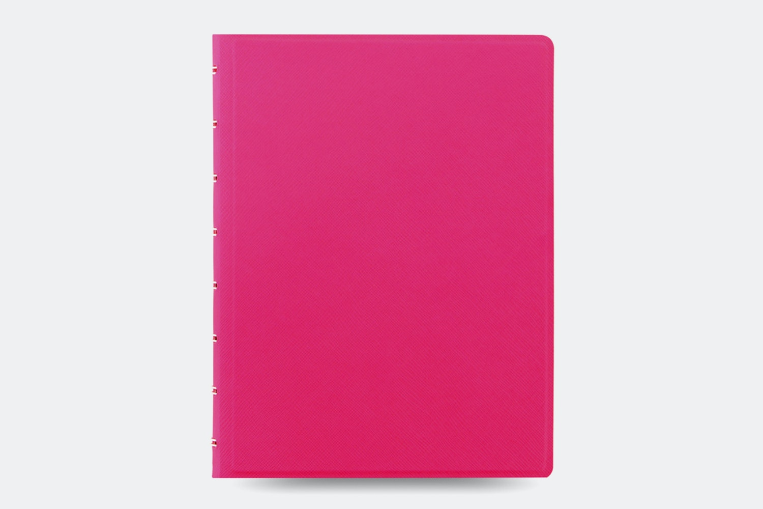 Classic Fluoro A5 Notebook - Pink