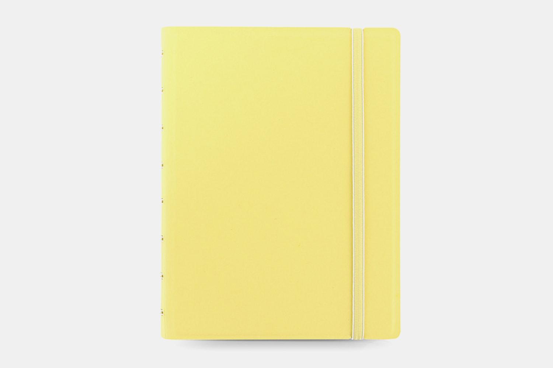 Classic Pastel A5 Notebook - Lemon