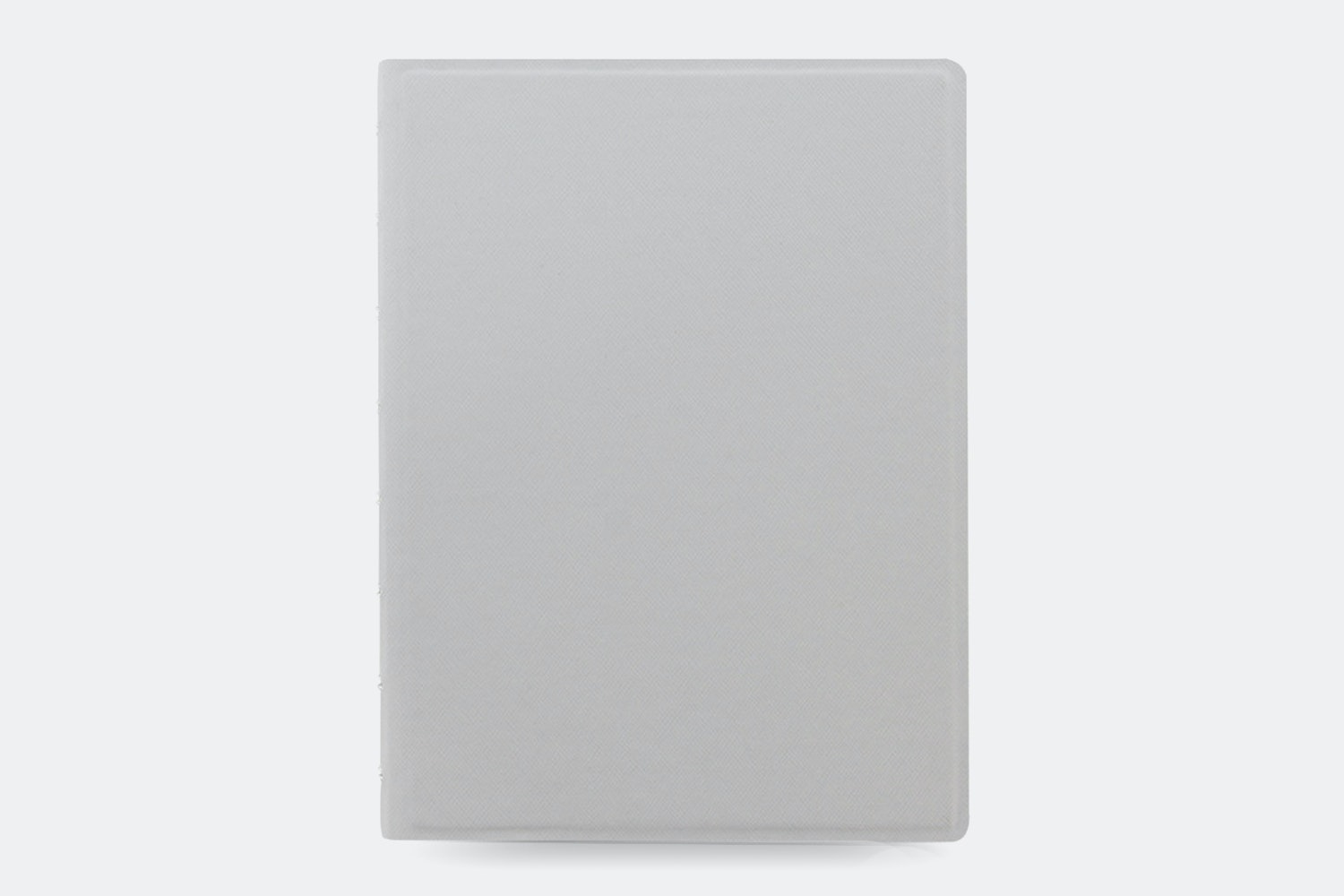 Classic Fluoro A5 Notebook - Grey/Yellow