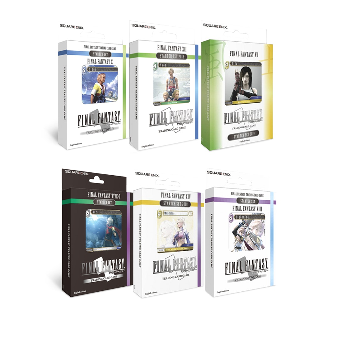 Final Fantasy TCG Starter Bundle