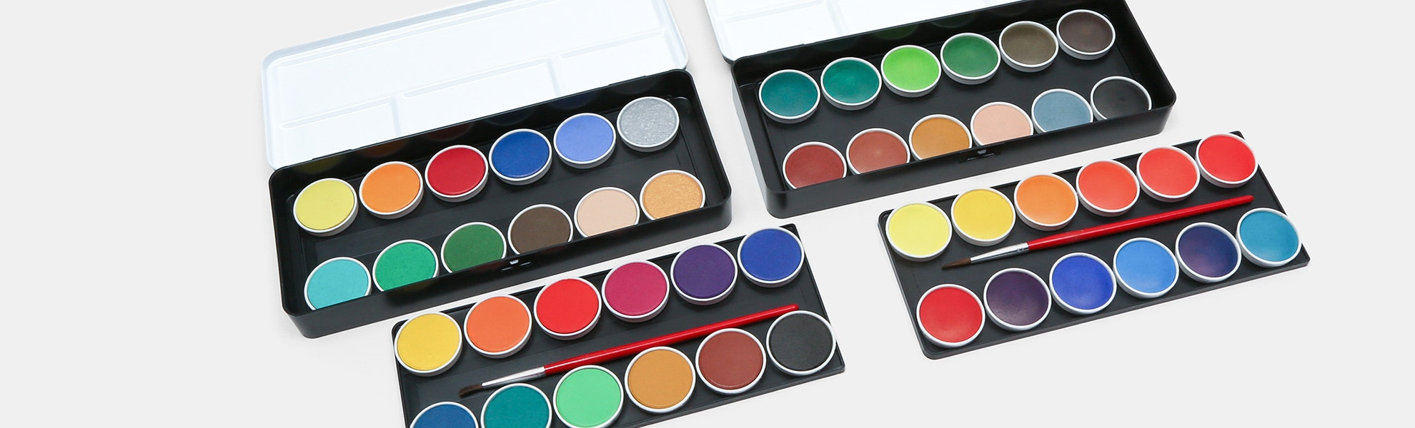Finetec Watercolor Paint 48-Color Bundle
