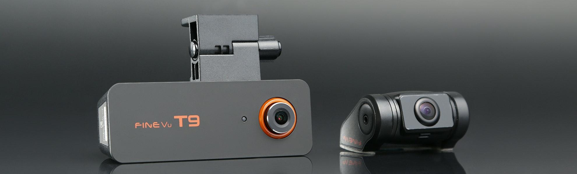FineVu T9 Dual Channel Dash Camera