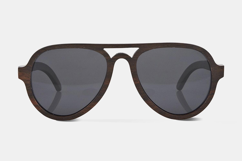 Finlay & Co. Jenson Wooden Sunglasses