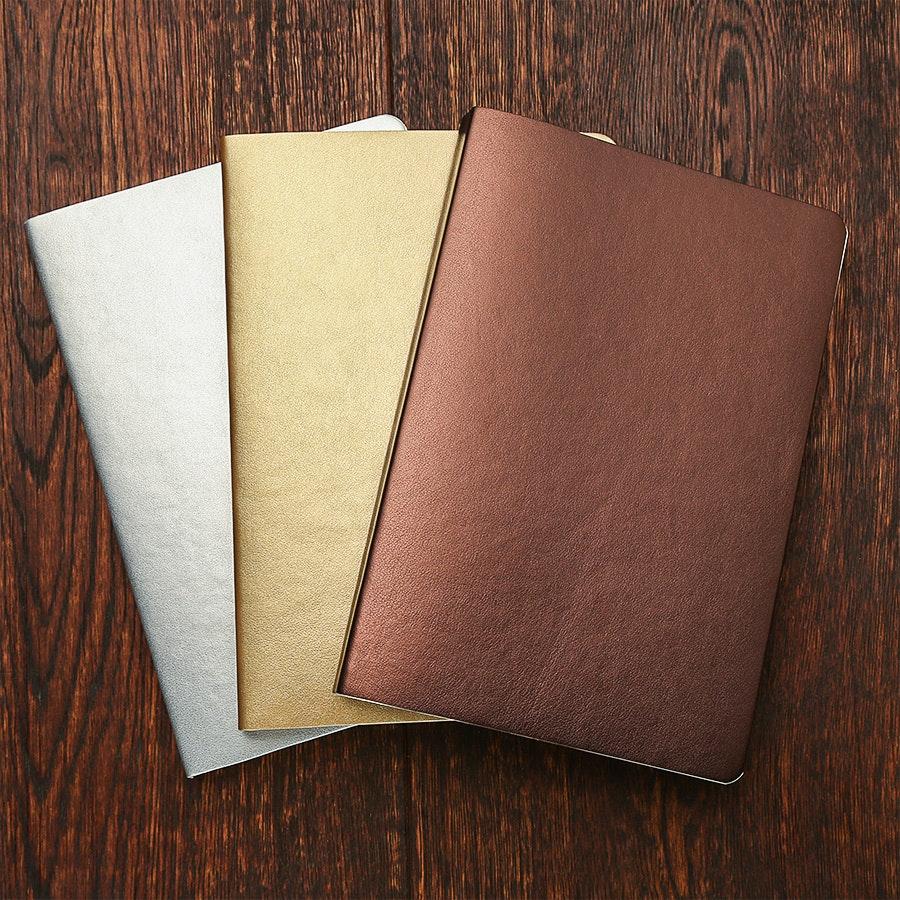 Fiorentina Luminoso Metallic Softcover Notebook