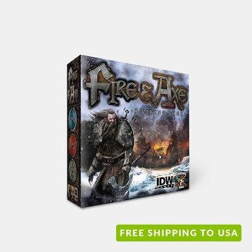 Fire & Axe: A Viking Saga